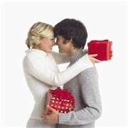 圣诞节礼物看恋人真心